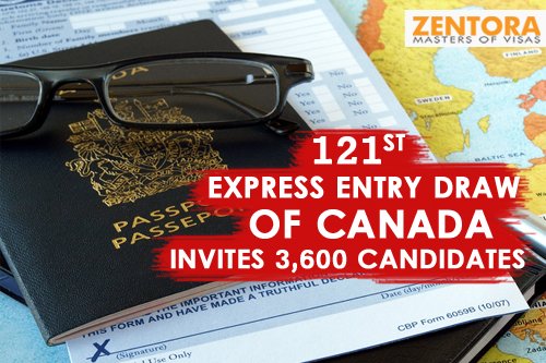 121st Express Entry Draw