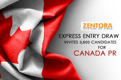 122nd Express Entry Draw