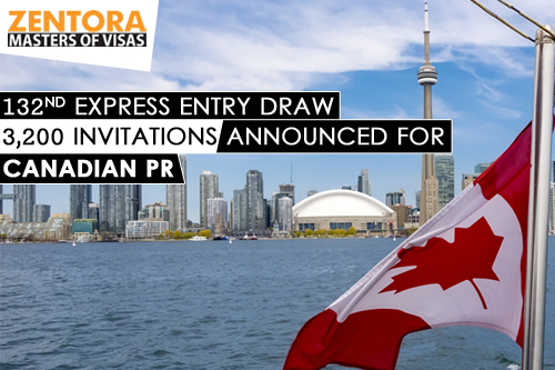 132nd Express Entry Draw