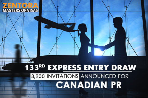 133rd Express Entry Draw