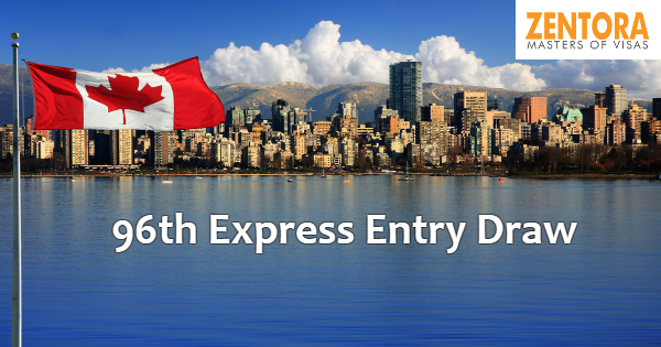 96th Express Entry Draw Issued 3,750 ITA's