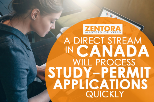 A Direct Stream in Canada Will Process Study-Permit Applications Quickly
