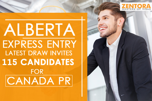 Alberta Express Entry Latest Draw Invites 115 Candidates for Canada PR