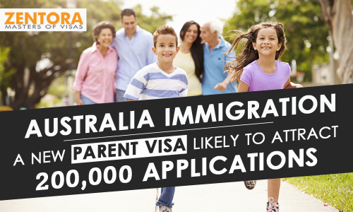 Australia Immigration - A New Parent Visa Likely To Attract 200,000 Applications