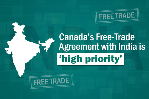 Canadas Free Trade Agreement With India Is High Priority