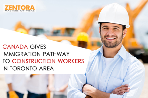 Canada Gives Immigration Pathway To Construction Workers In Toronto Area