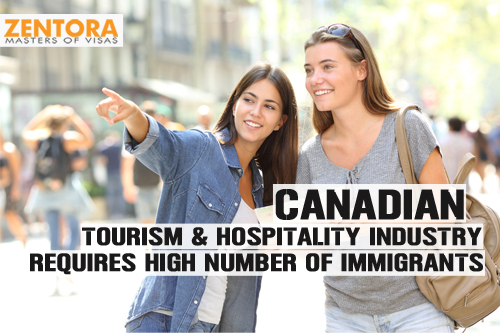 Canadian Tourism & Hospitality Industry Requires High Number of Immigrants
