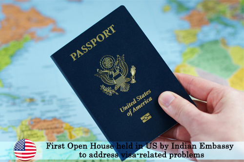 First Open House held in US by Indian embassy to address visa-related problems
