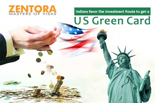 Indians favor the Investment Route to get a US Green Card