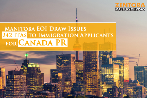 Manitoba EOI Draw Issues 242 ITAs to Immigration Applicants for Canada PR