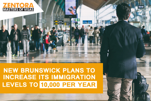 New Brunswick Plans to Increase its Immigration Level to 10,000 Per Year