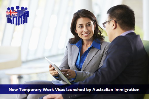 New Temporary Work Visas Launched by Australian Immigration