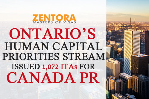 Ontario Human Capital Stream
