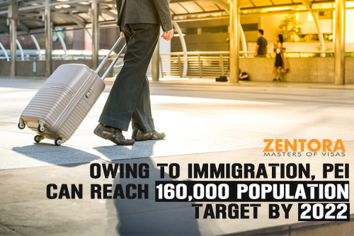 Owing To Immigration, PEI Can Reach 160,000 Population Target By 2022