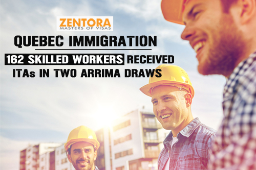 Quebec Immigration: 162 Skilled Workers Received ITAs in Two Arrima Draws