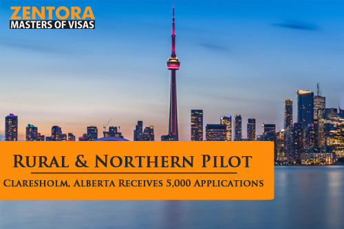 Rural & Northern Pilot: Claresholm, Alberta Receives 5,000 Applications