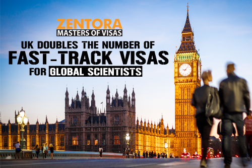 UK Doubles the Number of Fast-Track Visas for Global Scientists