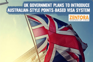 UK Government Plans to Introduce Australian-style Points-Based Visa System