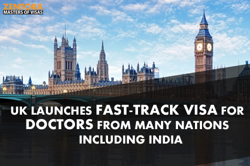 UK Launches Fast-Track Visa for Doctors from Many Nations Including India