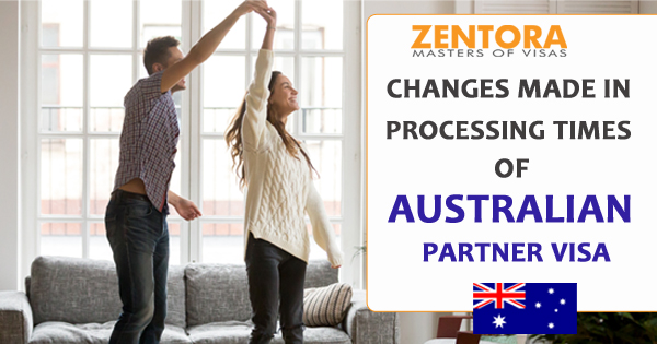 Processing Time Changes for Australian Partner Visas