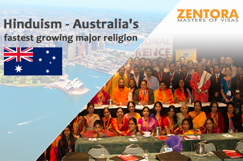 Hinduism - Australia's fastest growing major religion