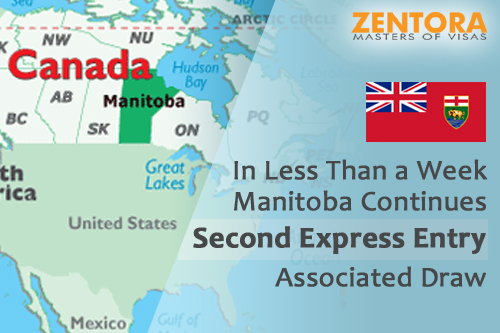In Less Than a Week Manitoba Continues Second Express Entry Associated Draw