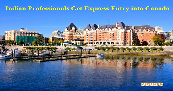 Indian Professionals Get Express Entry into Canada
