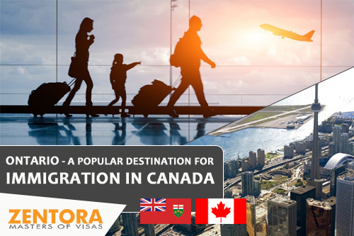 ONTARIO - A POPULAR DESTINATION FOR IMMIGRATION IN CANADA