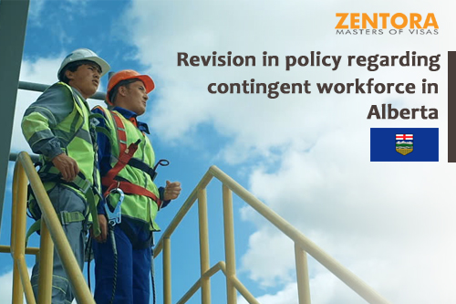 Revision in policy regarding contingent workforce in Alberta