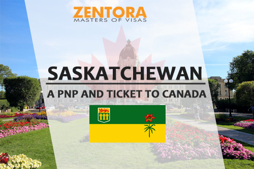 SASKATCHEWAN -- A PNP AND TICKET TO CANADA