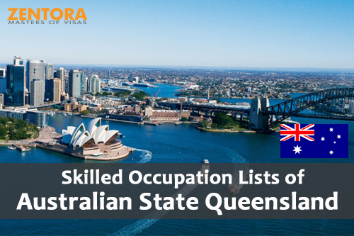 Skilled Occupation Lists of Australian State Queensland