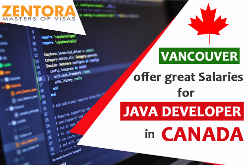 Vancouver has great Salaries for Java Developers in Canada